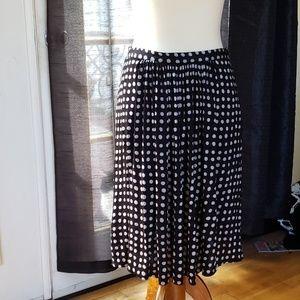 MaxMara polka dot skirt